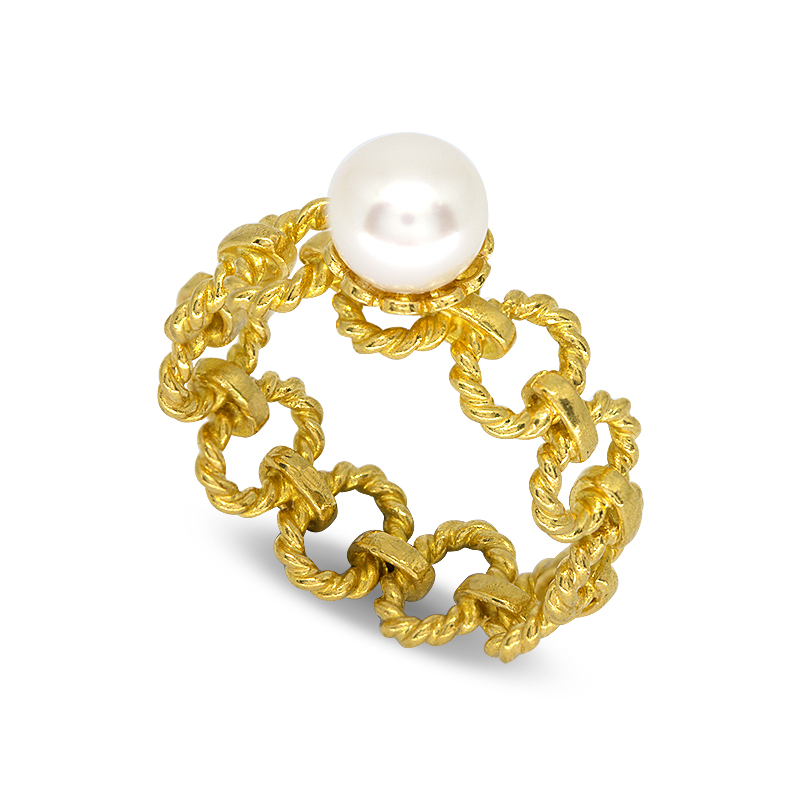 RING 99.99% GOLD LITTLE SWEET L023-1
